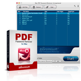 PDF Password Remover for Mac