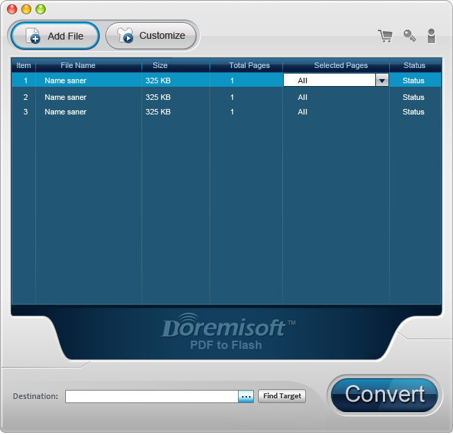 Doremisoft Mac PDF to Flash Converter 3.0.1 full