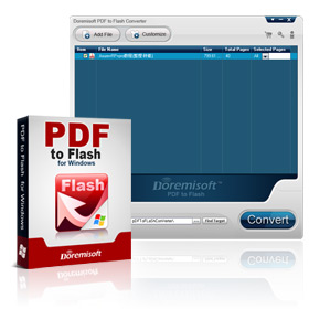 Create Flash Flip Book from PDF with Doremisoft PDF to Flip