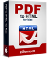 PDF to HTML Converter for Mac