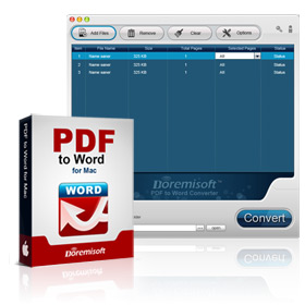 PDF to Word Converter for Mac